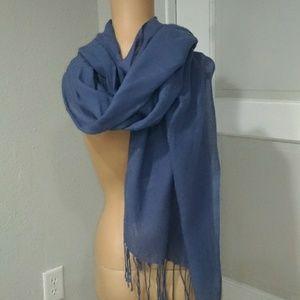 Accessories - Blue scarf